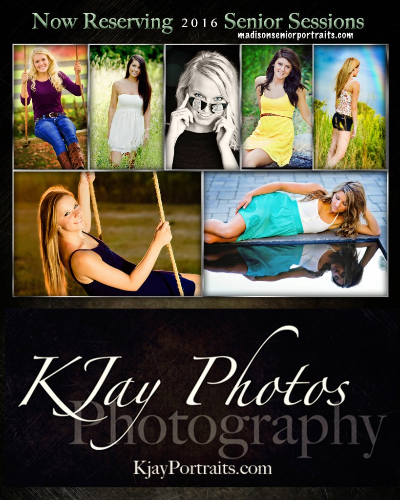 K Jay Photos Photography, Madison WI Photographer specializing in high school senior pictures.