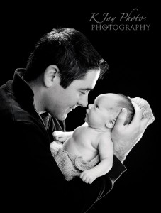 Madison, WI Photographer specializing in newborn portraits.