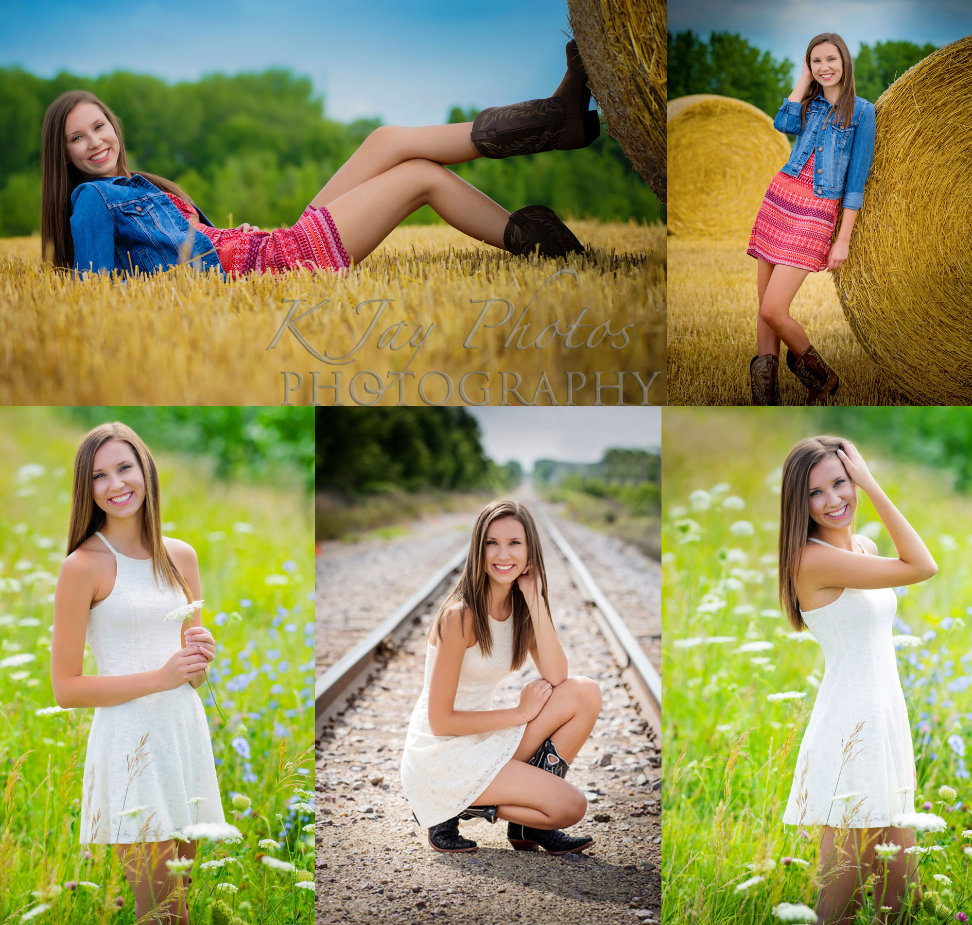 KJay Photographer Review. Jenna De Forest High School Senior
