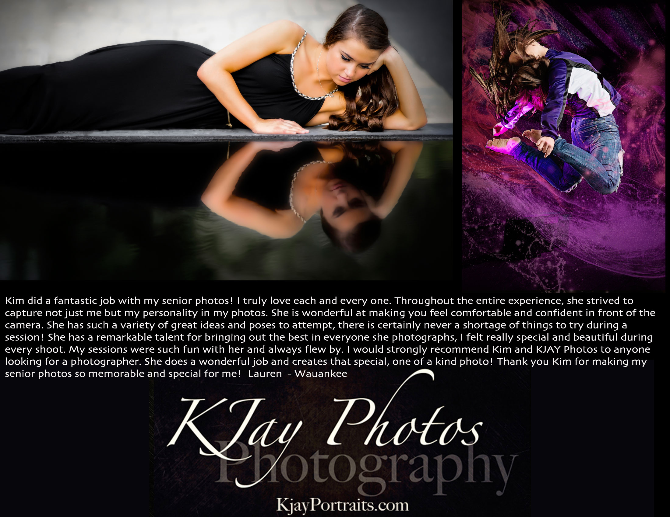 K Jay Photos Photography Review.  Madison, WI Photographer.