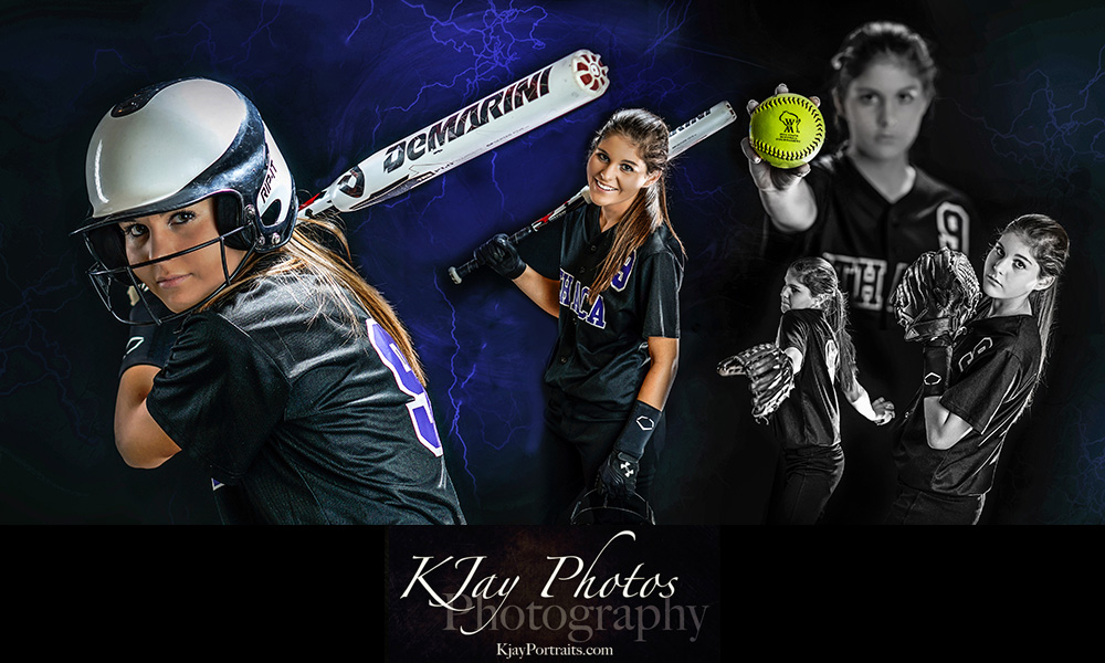 Softball Senior Pictures, Photographer in Madison, WI