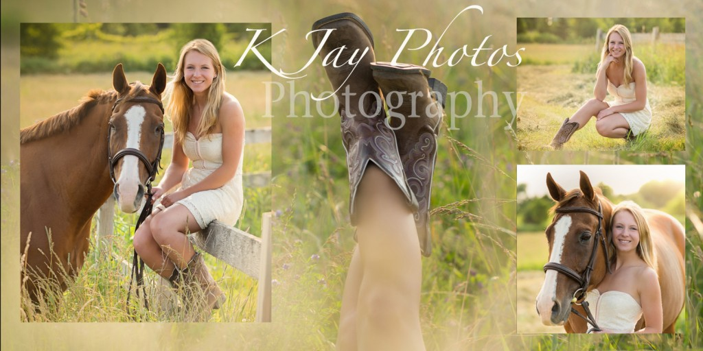 Horse senior pictures, Madison WI Photographer