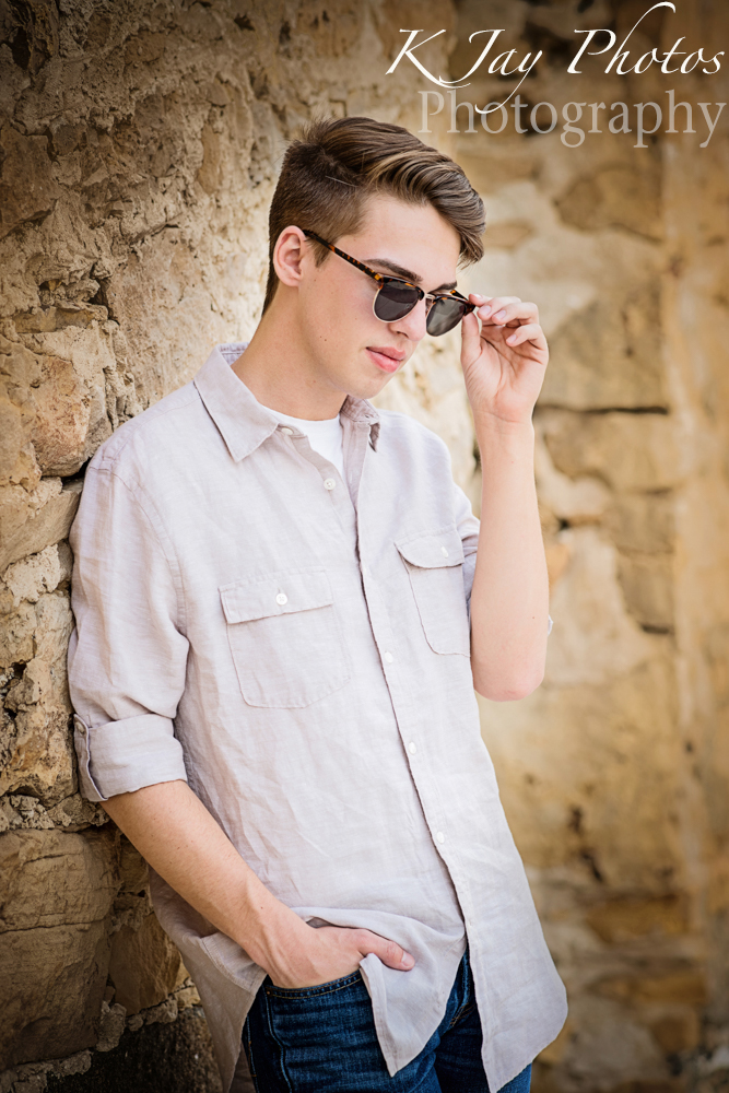 Cool guy senior pictures. K Jay Photos Photography, Madison WI Photographer
