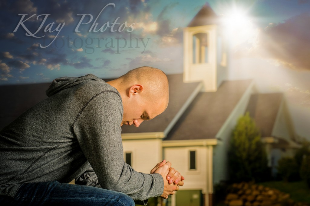 K Jay Photos Photography, Madison WI Photographer. Religious senior pictures