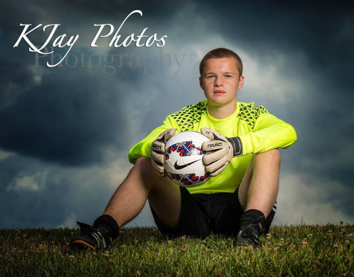 K Jay Photos Photographer captures fierce soccer senior pictures. For more high school senior pictures, visit www.kjayportraits.com