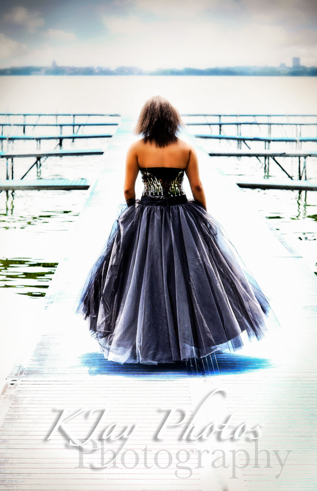 Beautiful senior pictures with your prom dress. K Jay Photos Photography, Madison WI.